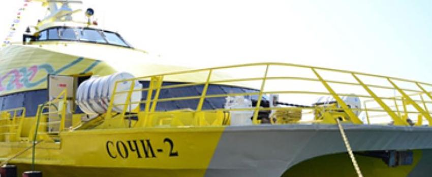 морским транспортом адлер абхазия