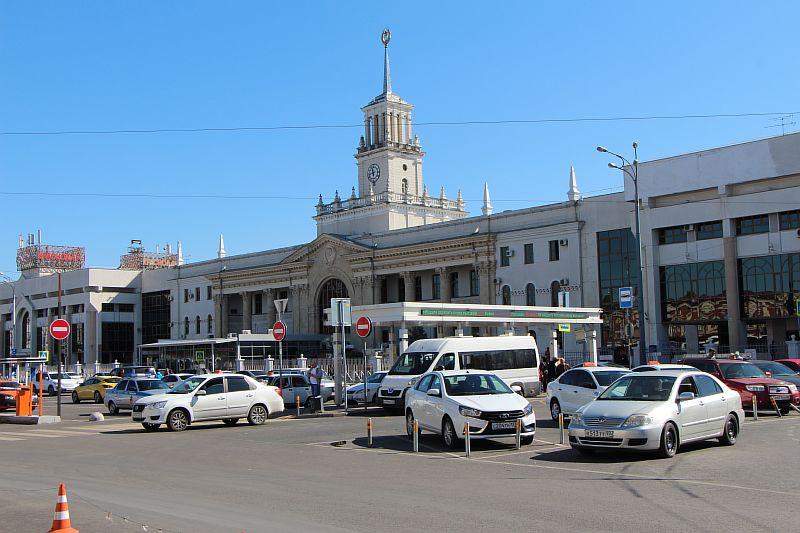 Железнодорожный вокзал Краснодар 1.