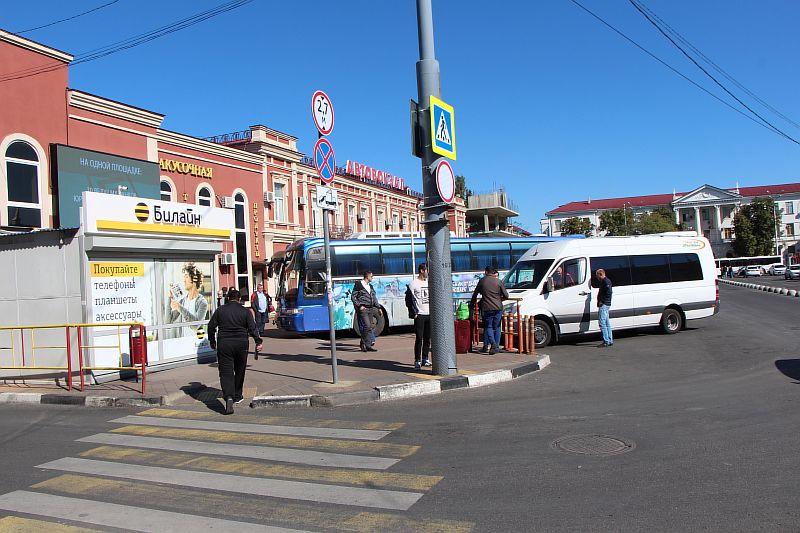 Автовокзал в Краснодаре.