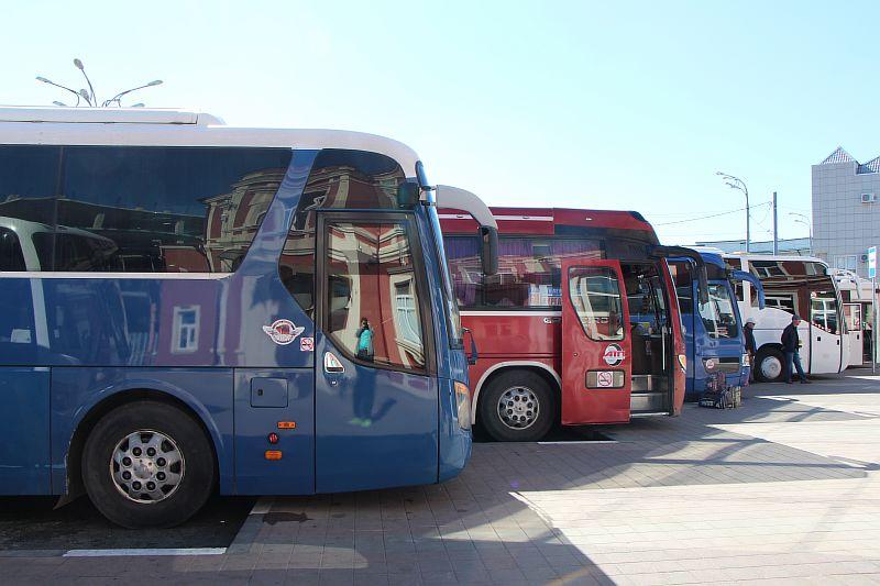 Автобус на Джубгу