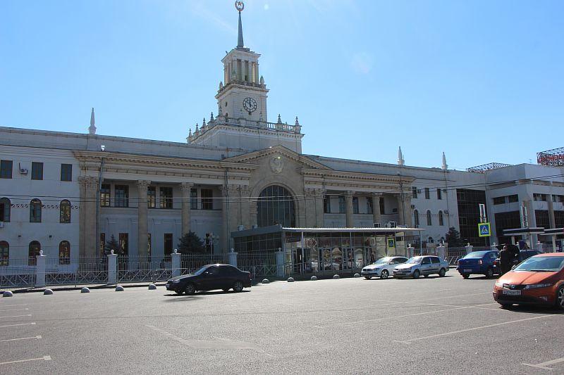 Железнодорожный вокзал. Краснодар.