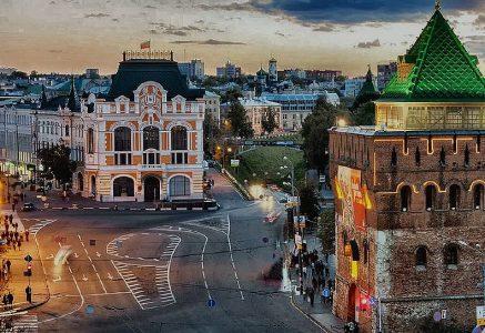 Нижний Новгород Оренбург